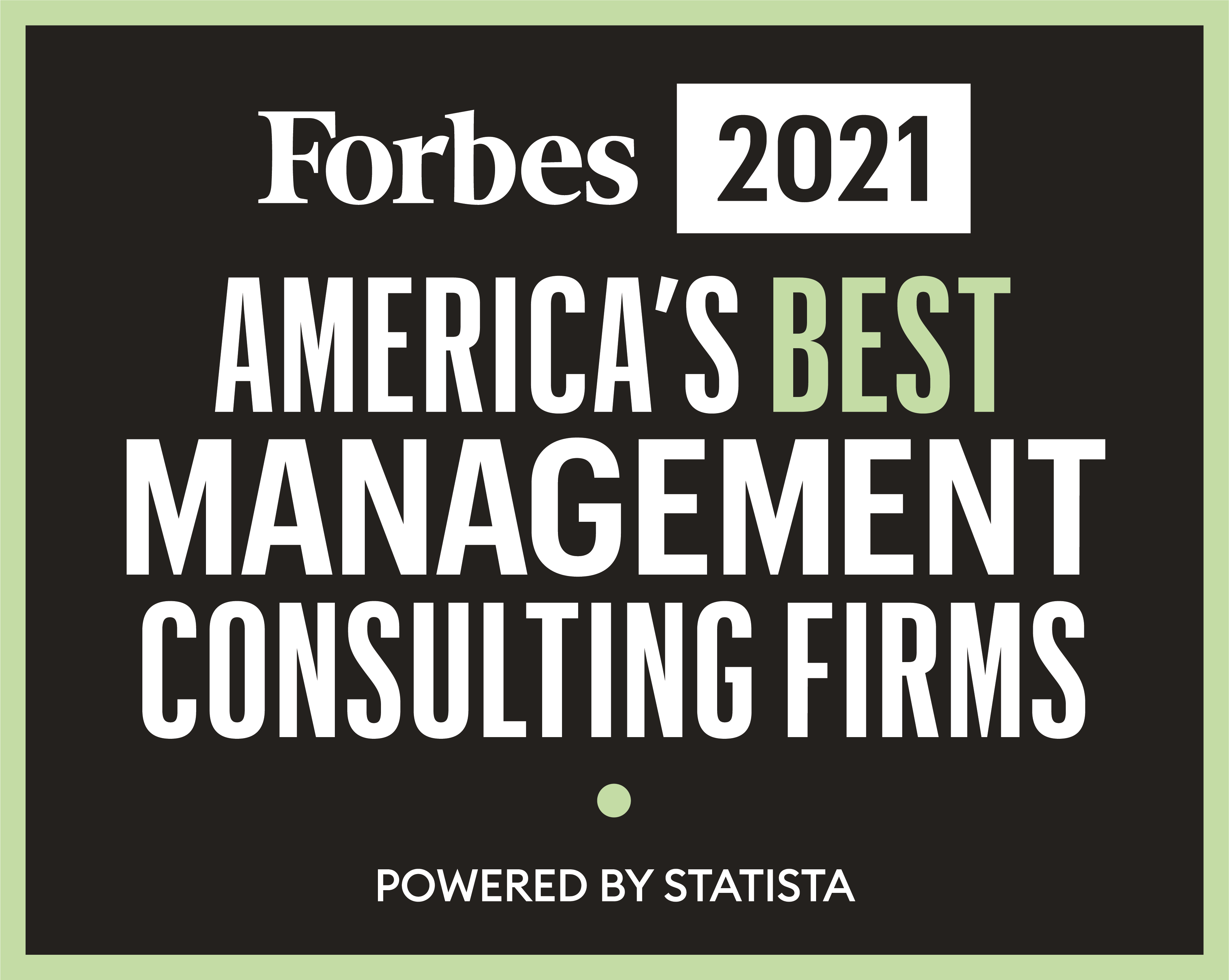 Forbes 2021 America's Best Management Consulting Firms